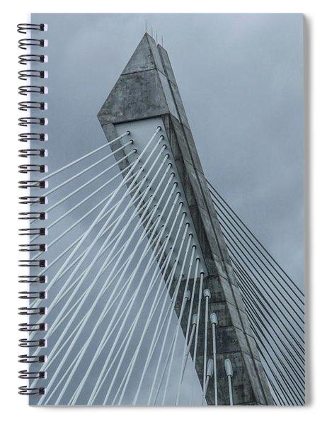 Terenez Bridge II Spiral Notebook