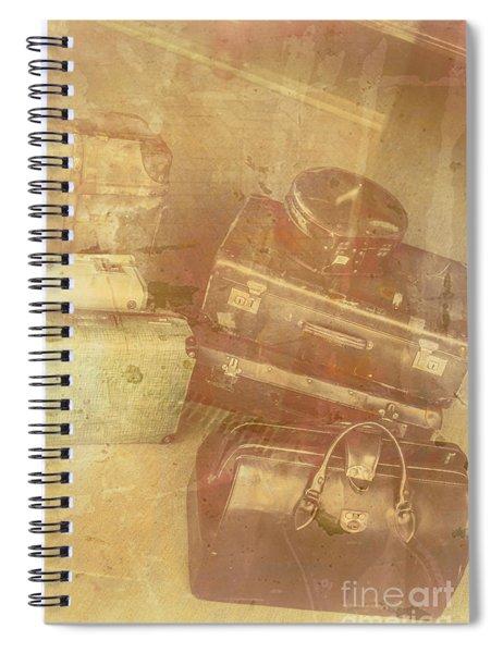 Terminal Goodbye Spiral Notebook