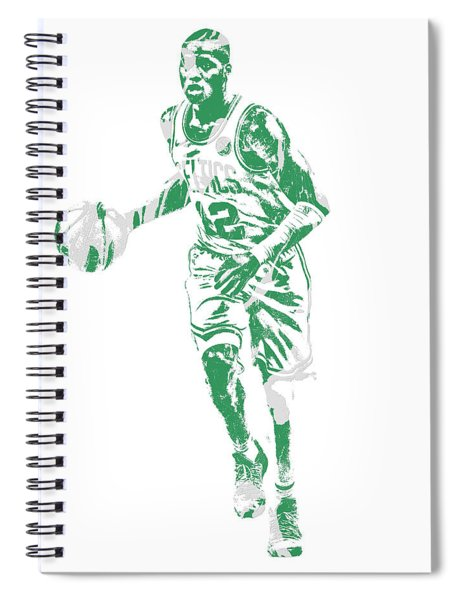 Terry Rozier Boston Celtics Pixel Art 10 Spiral Notebook