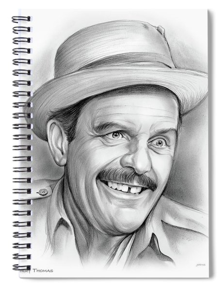 Terry Thomas Spiral Notebook