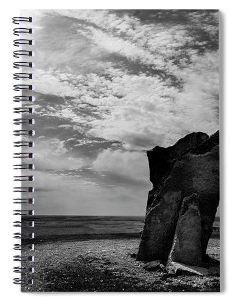 Teter Rock Hill Top View Spiral Notebook