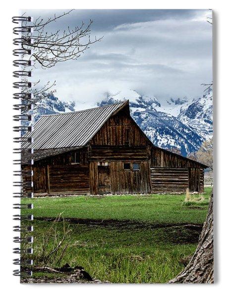 Teton Barn #1 Spiral Notebook