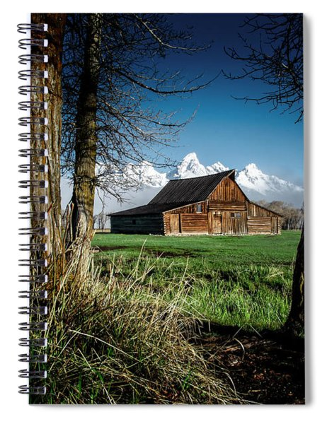 Tetons And Moulton Barn Spiral Notebook