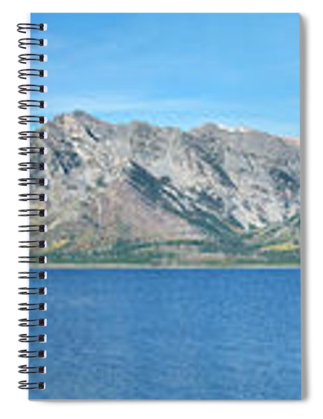 Teton Moonset Borderless Spiral Notebook