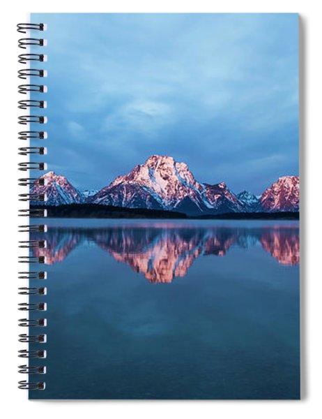 Teton Sunrise Spiral Notebook