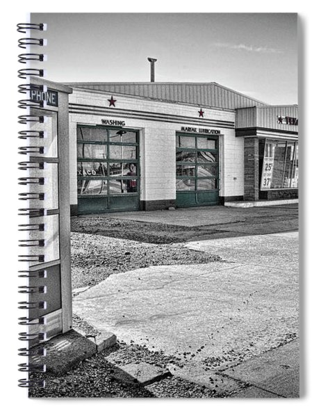 Texaco Spiral Notebook