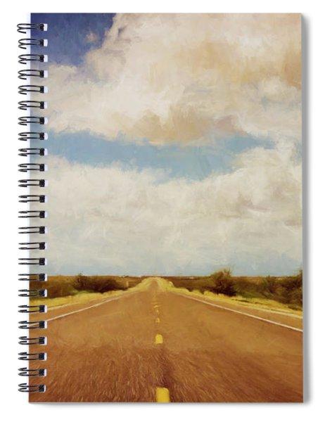Texas Highway Spiral Notebook