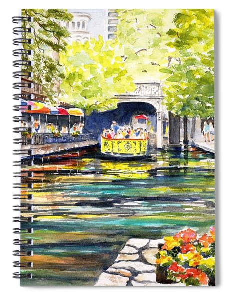 Texas San Antonio River Walk Spiral Notebook