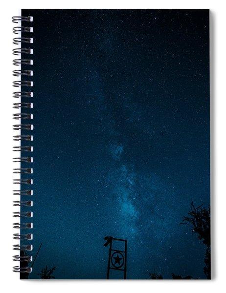 Texas Stars Spiral Notebook