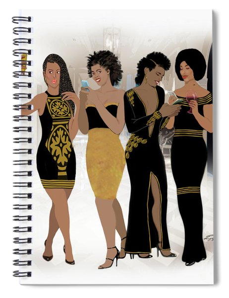 Texting With Style Spiral Notebook