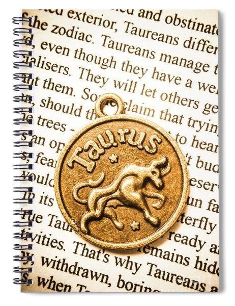 Texts In Taurus Spiral Notebook