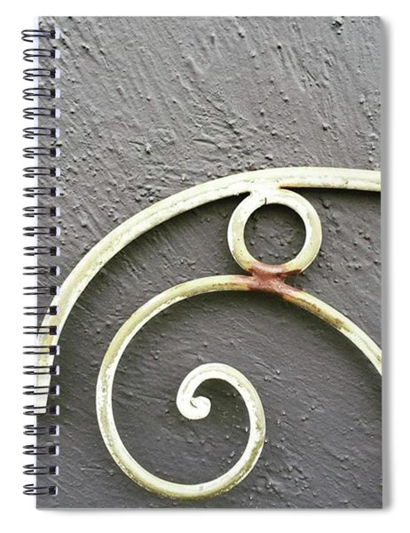 Texture And Form. I Love This Rich Spiral Notebook