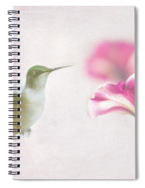 Textured Hummer Spiral Notebook
