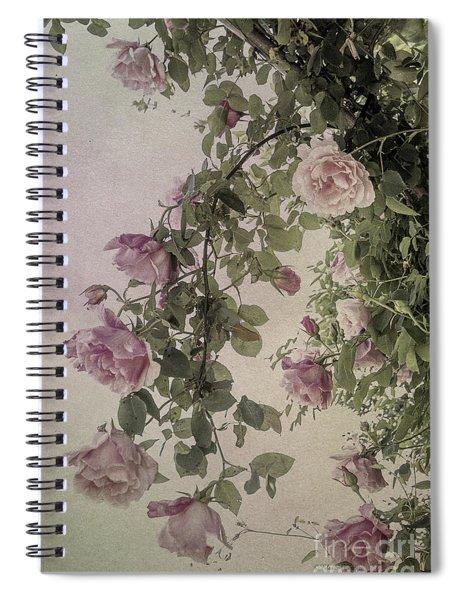 Textured Roses Spiral Notebook