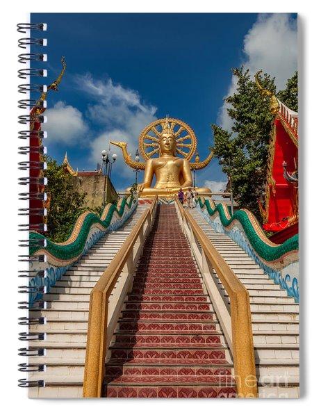 Thai Big Buddha Spiral Notebook