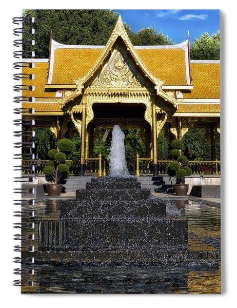 Thai Pavilion - Madison - Wisconsin Spiral Notebook