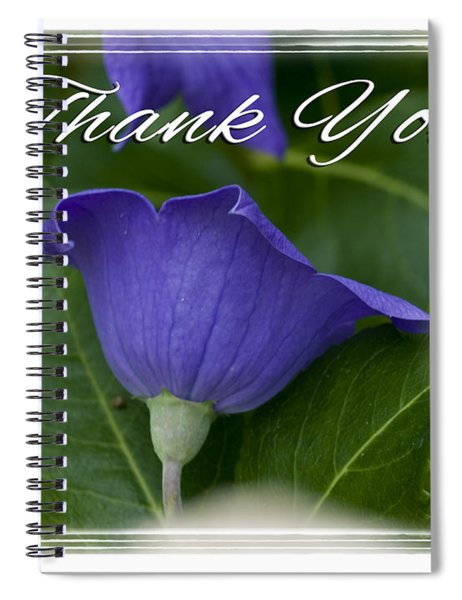 Thank You Balloon Spiral Notebook
