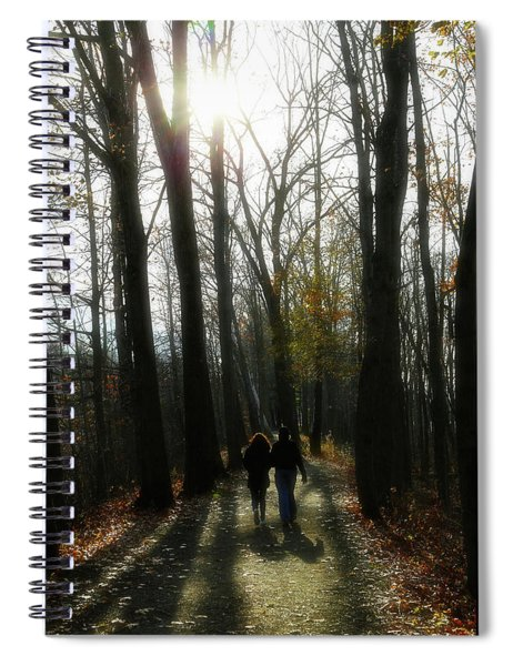 Thanksgiving Walk Spiral Notebook
