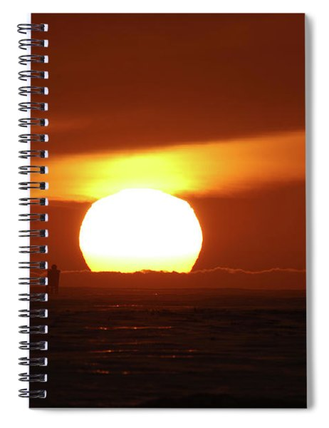 That Blazing Sun Spiral Notebook