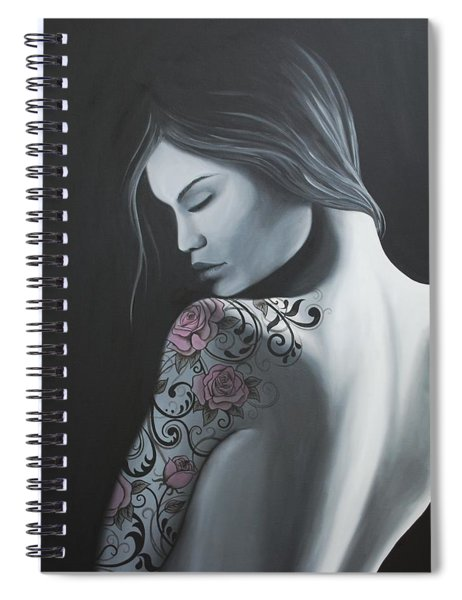That Tattoo Girl Spiral Notebook