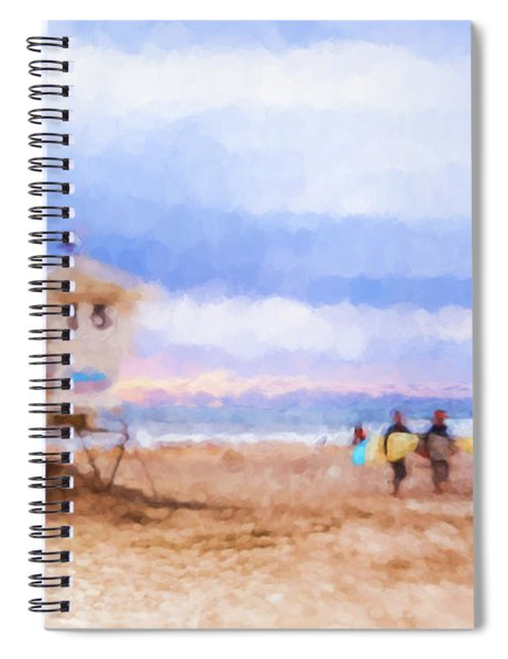 That Was Amazing Watercolor Spiral Notebook