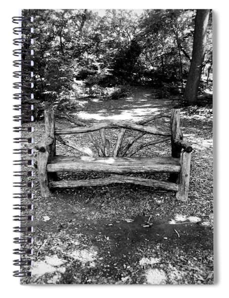 That Weird Bench One Spiral Notebook