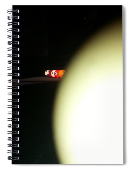 That's No Moon Spiral Notebook