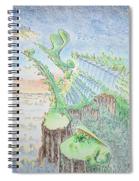 The 18th Hole Spiral Notebook
