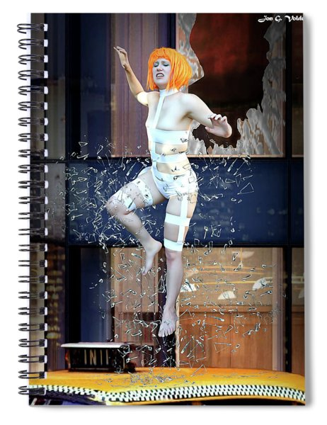 The 5th Element Spiral Notebook