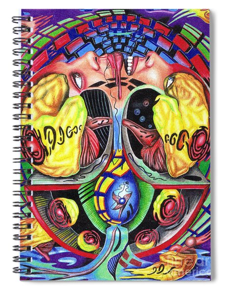 The Abduction Of A Foreign Mind Spiral Notebook