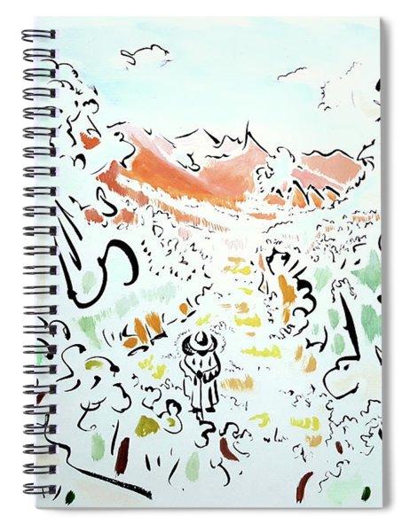 The Afternoon Walk Spiral Notebook