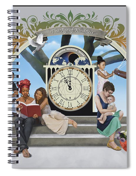 The Age Of Kindness Spiral Notebook