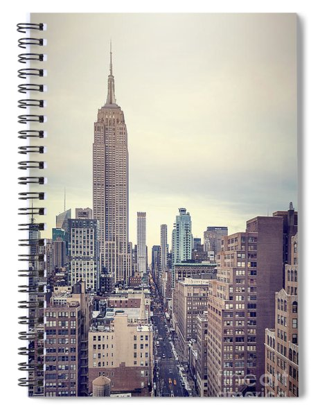 The Age Of The Empire Spiral Notebook