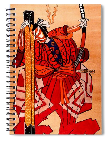 The Age Of The Samurai 04 Spiral Notebook