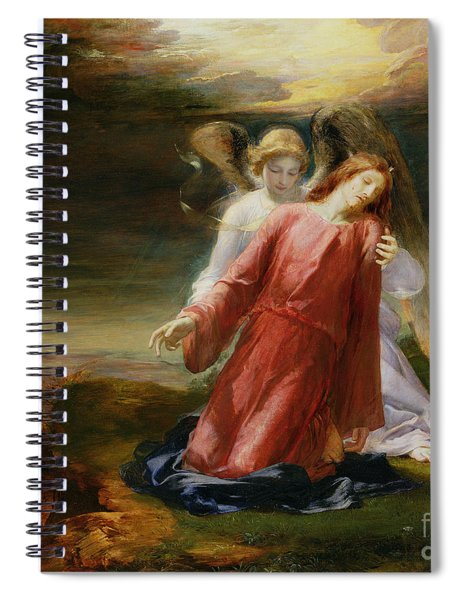 The Agony In The Garden Spiral Notebook