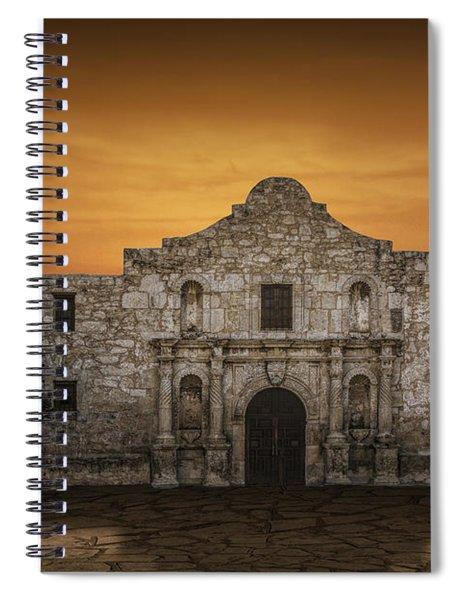 The Alamo Mission In San Antonio Spiral Notebook