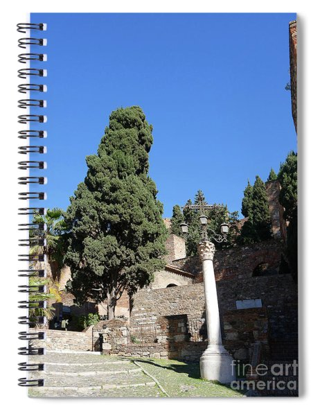 The Alcazaba Of Malaga In Andalucia Spain Spiral Notebook