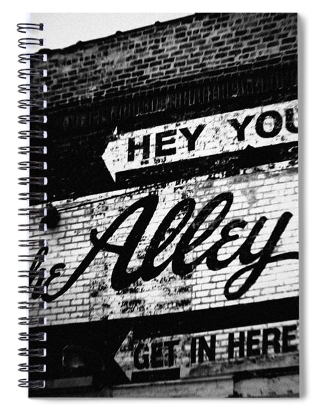 The Alley Chicago Spiral Notebook