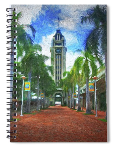 The Aloha Tower Spiral Notebook