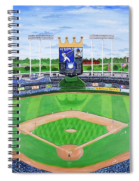 The Amazing Game At The K Spiral Notebook