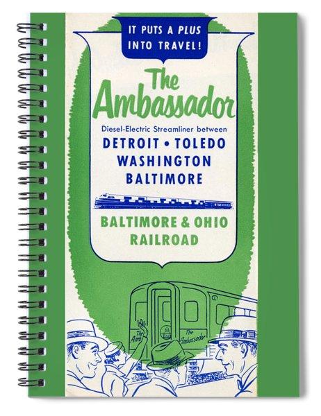 The Ambassador Spiral Notebook