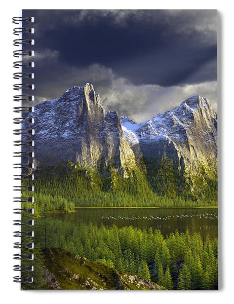 The Anvils Of Thor Spiral Notebook