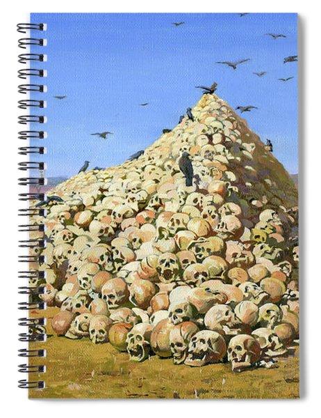 The Apotheosis Of War  Spiral Notebook