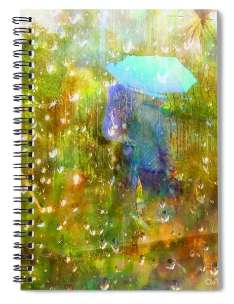 The Approach Of Autumn Spiral Notebook