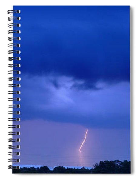 The Approching Storm Spiral Notebook