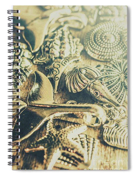The Aquatic Abstraction Spiral Notebook