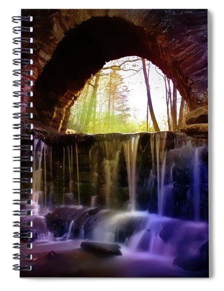 The Arch Bridge Spiral Notebook