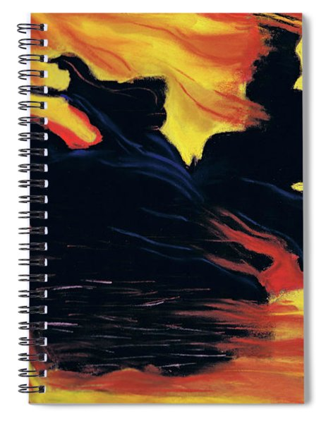 The Arrival Of The Wicked Spiral Notebook