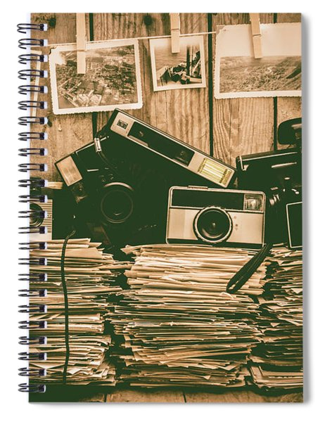The Art Of Film Photography Spiral Notebook