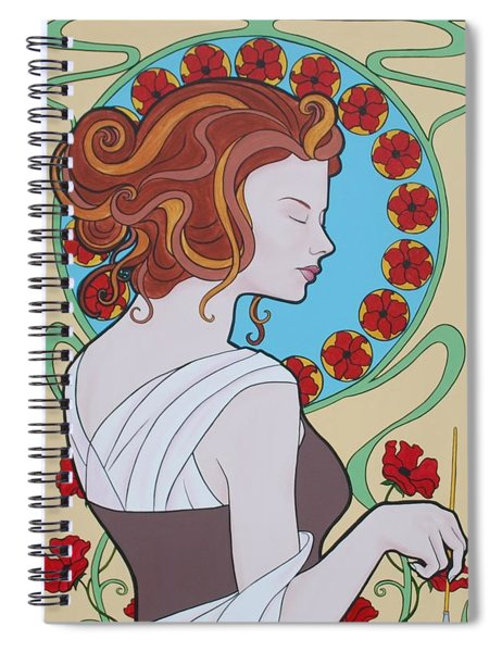 The Artist Spiral Notebook